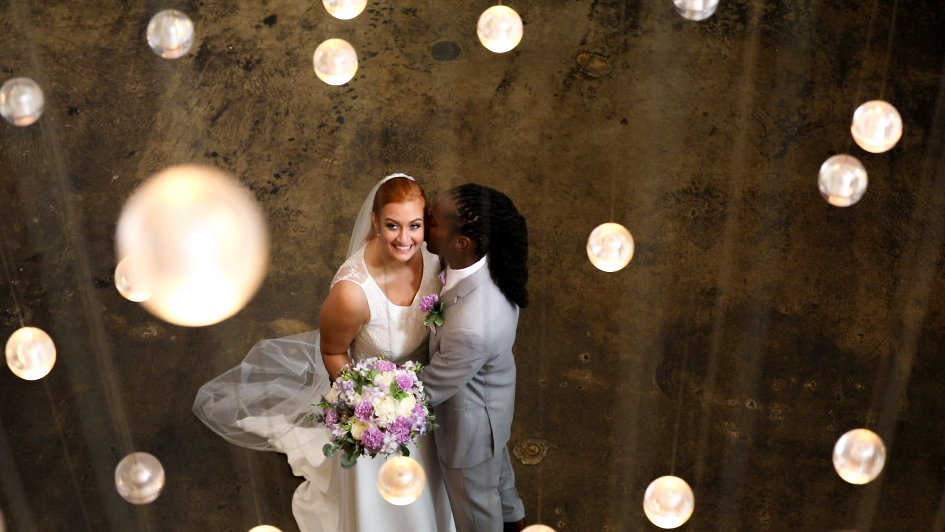 Robine and Trei's wedding at the W Hotel in Midtown, Atlanta